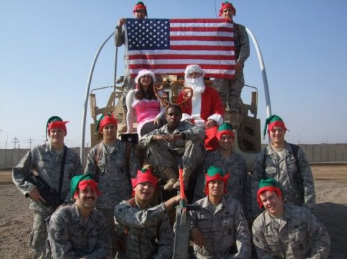 Iraq, December, 2009 (Kenton is bottom left)