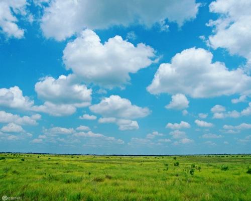 Texas sky in July