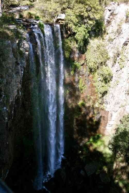 This is a waterfall at Mount Fraser National Park. It's only about an hour's drive from home. Beautiful!