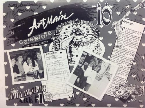 Art Main Anniversary Poster