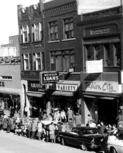 Around 109 South Main, circa 1950s