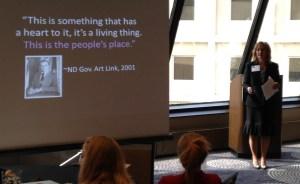 Kim Jondahl, North Dakota State Historical Soceity